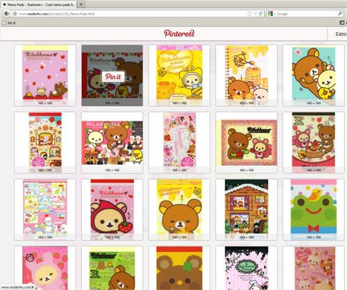 5. Pin pictures from our shop or pinboards and always tag them with @modes4u