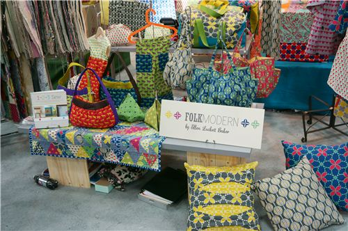 All those Kokka fabrics are designed by Ellen Lucket Baker