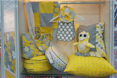 Pretty projects in yellow and grey