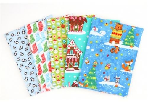 Join Our Christmas Fabric Giveaway with Sew Magazine!