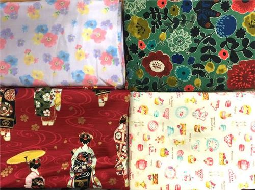 Join our Christmas Fabric Giveaway with Japanese Sewing Books!