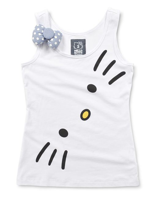 Adoarble Hello Kitty tank top with bow application
