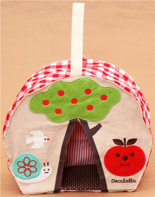 Decole apple snail baby diaper stacker bag from Japan