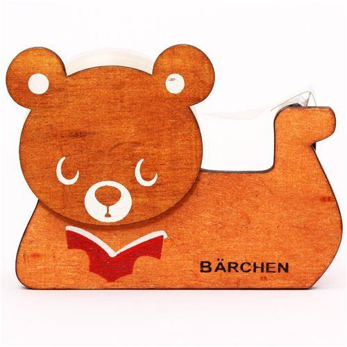 brown bear deco tape dispenser cutter Decole