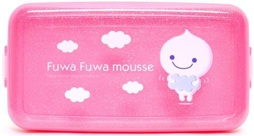 Fuwa Fuwa paper clay glitter utility box