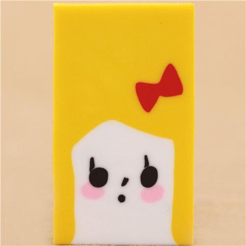 Blondie shape change face eraser from Japan