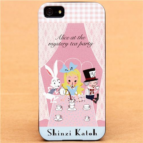 Alice in Wonderland fairy tale iPhone 5 hard cover case