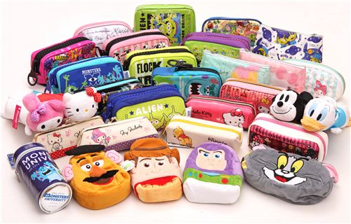 We have many new kawaii pencil cases in our shop