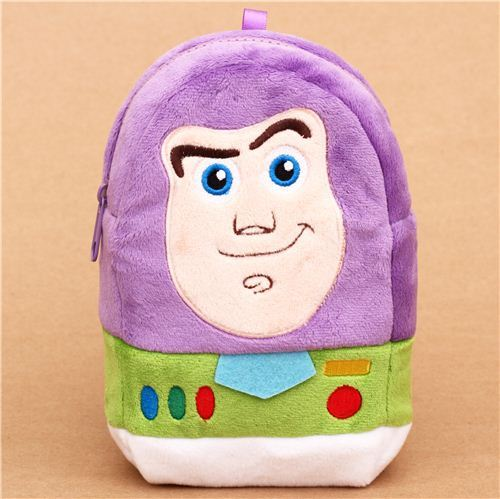 fluffy Toy Story Buzz Lightyear plush pencil case