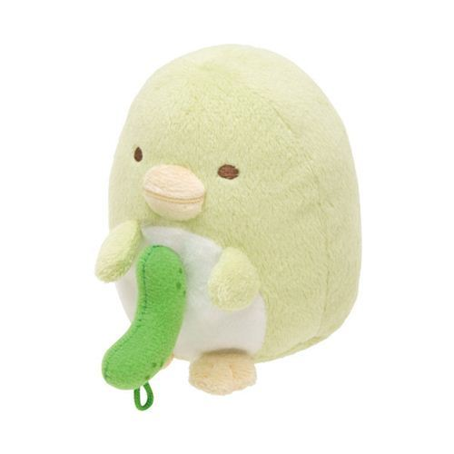 green vibrating Sumikkogurashi penguin San-X plush toy