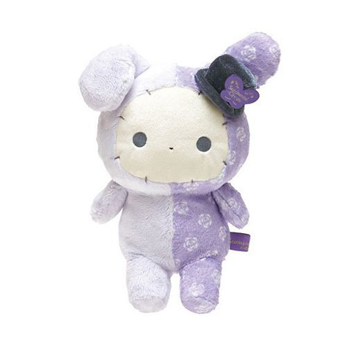 medium-sized purple Sentimental Circus rabbit Shappo plushie rose garden