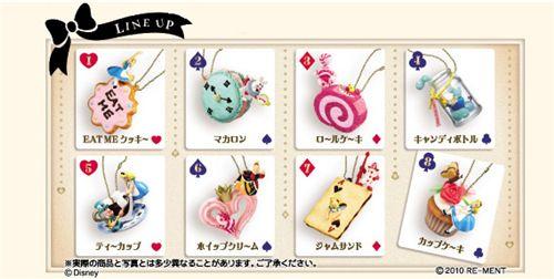 Alice in Wonderland keychains