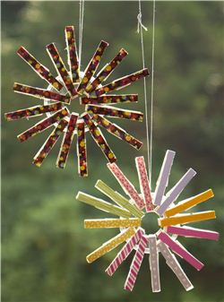 Christmas Washi Tape Clothespin Ornament