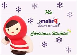 My modes4u Christmas Wishlist Giveaway (ends on Dec 10, 2013)