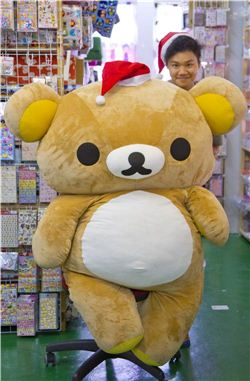 Christmas gift ideas by Rilakkuma and Burton
