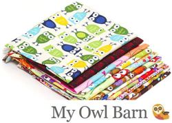 MyOwlBarn Owls Fabric Giveaway (ends on Sep 27, 2013)