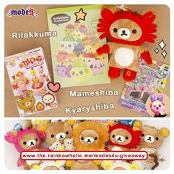 Rainbowholic Kawaii Giveaway (ends on Oct 7, 2013)