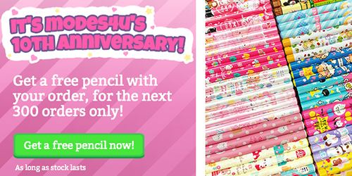 It's our 10th Anniversary this month! Get free goodies!