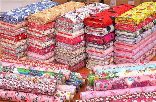 Check out all our new cute Sanrio fabrics