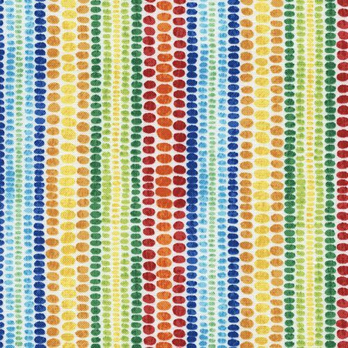 cute colorful small green red orange blue dot fabric by Timeless Treasures