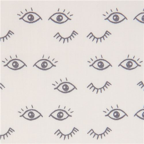 light cream fabric with eye by Art Gallery Fabrics