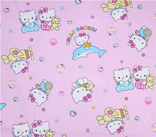 New Hello Kitty fabrics 4
