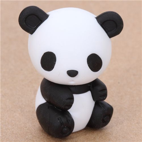 cute Japanese panda eraser from Iwako