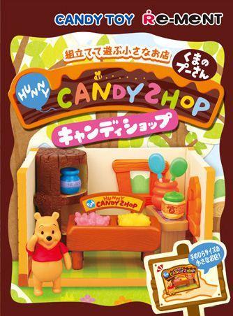 Disney Re-Ment Winnie-the-Pooh Candy Shop Miniature Box