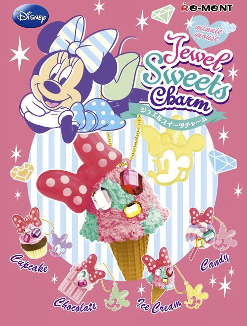Re-Ment Disney Minnie Mouse sweets cupcakes