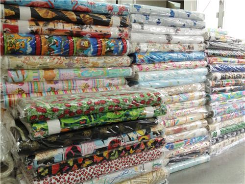 Hundreds of new fabrics will be in our shop soon
