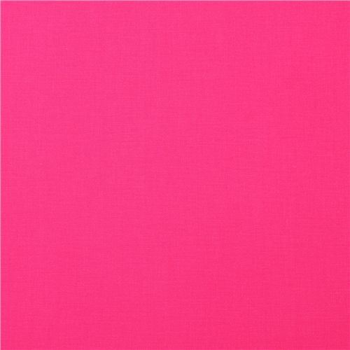 solid pink fabric Robert Kaufman USA Bright Pink