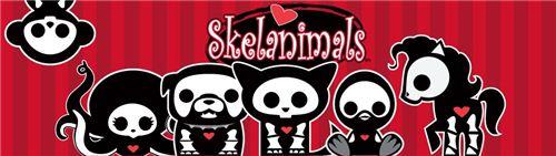 We now have cute Skelanimals fabrics on modes4u.com
