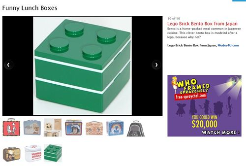 Our Lunch Box on kitchendaily.com
