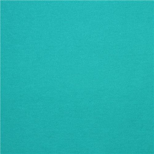 turquoise Michael Miller knit fabric from the USA Solid