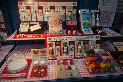 Lots of clay sauces and crafting supplies - we carry lots of them in our shop.