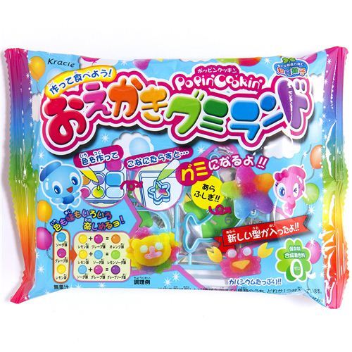 With the Candy painting set you can colour your own gummy candy