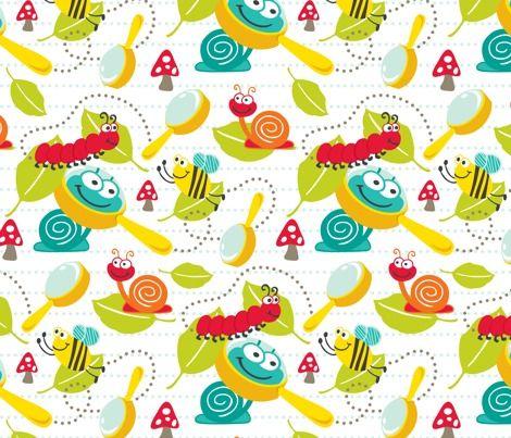 cute bugs and caterpillars