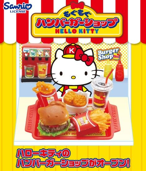 Who would not want to try Hello Kitty Fast Food?