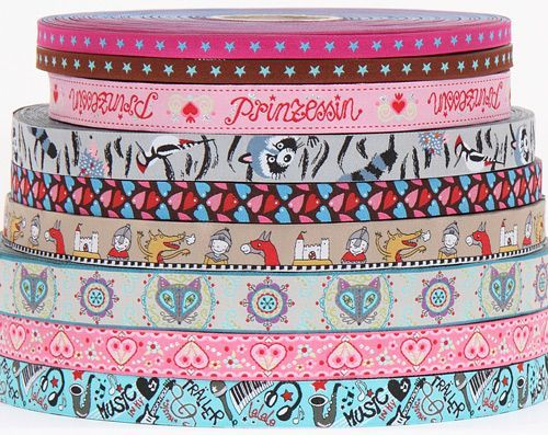 beautiful woven ribbons