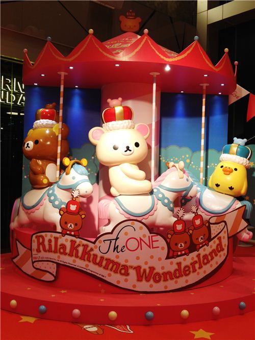 The lovely The One x Rilakkuma Wonderland exhibition in Hong Kong