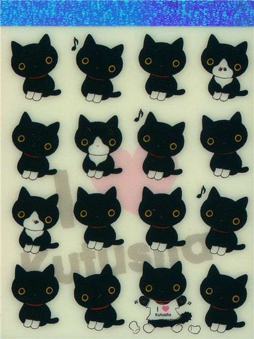 cute Kutusita Nyanko mini Memo Pad many cats