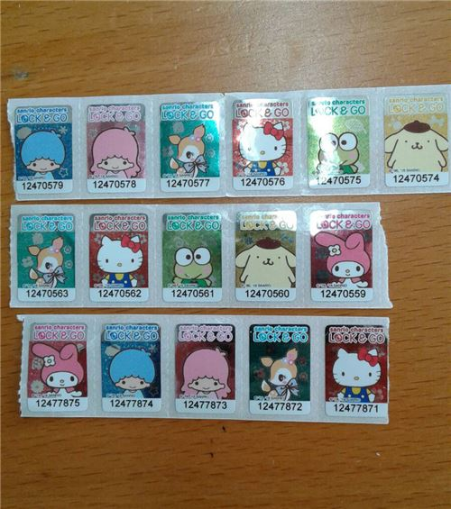 These are the adorable stamps to collect