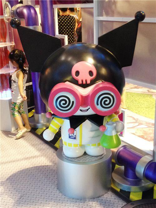 Kuromi in the food lab