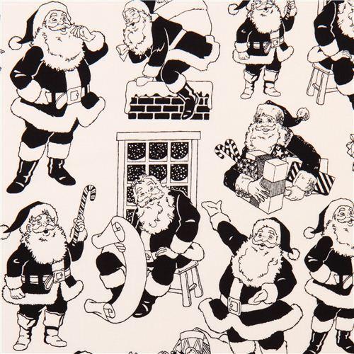 Riley Blake Santa Claus Xmas fabric Lost & Found Christmas