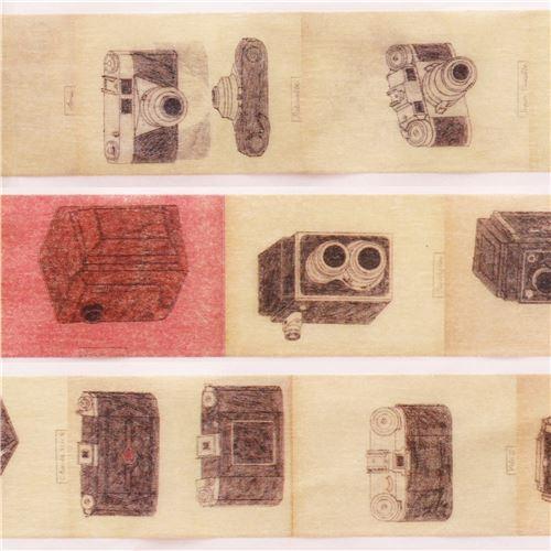 mt Washi Masking Tape deco tape designer Weisbecker camera