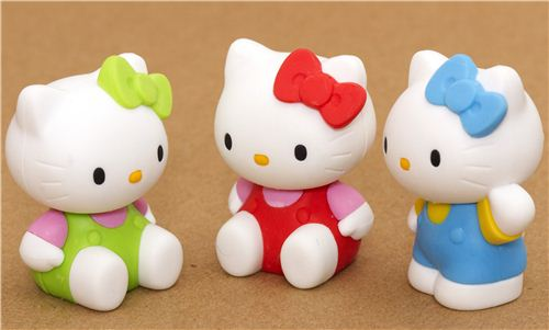 What a cute set. Win these Hello Kitty erasers in our Facebook giveaway!