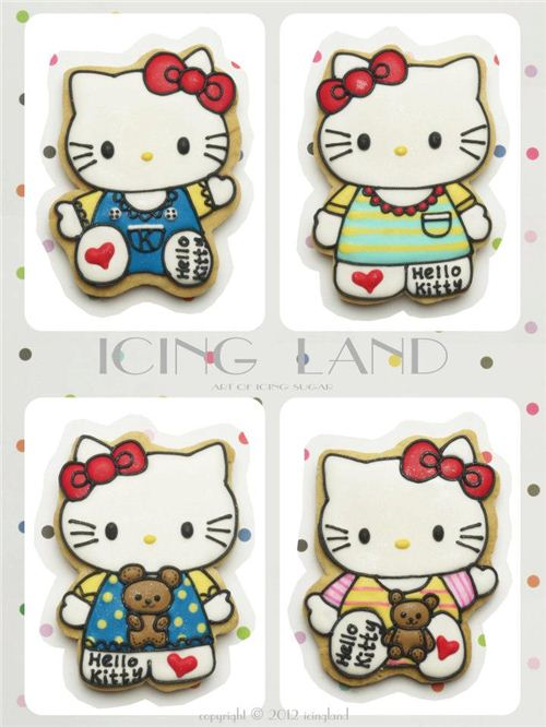 Incredible Hello Kitty Cookies