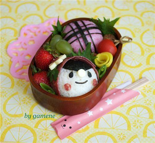 Cute Little Red Riding Hood bento by gamene