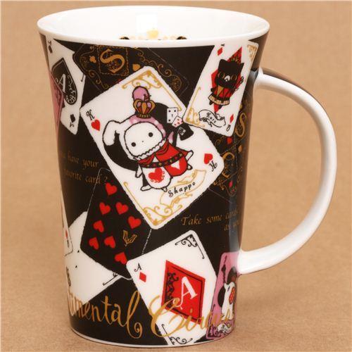 big black Sentimental Circus cup card game