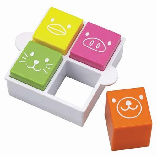 animal face Bento sandwich food cutters